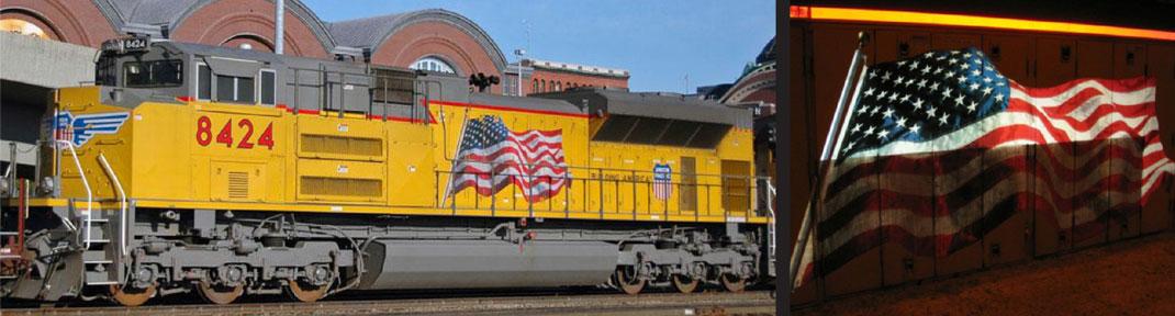 Rail Locomotive Mobile Install